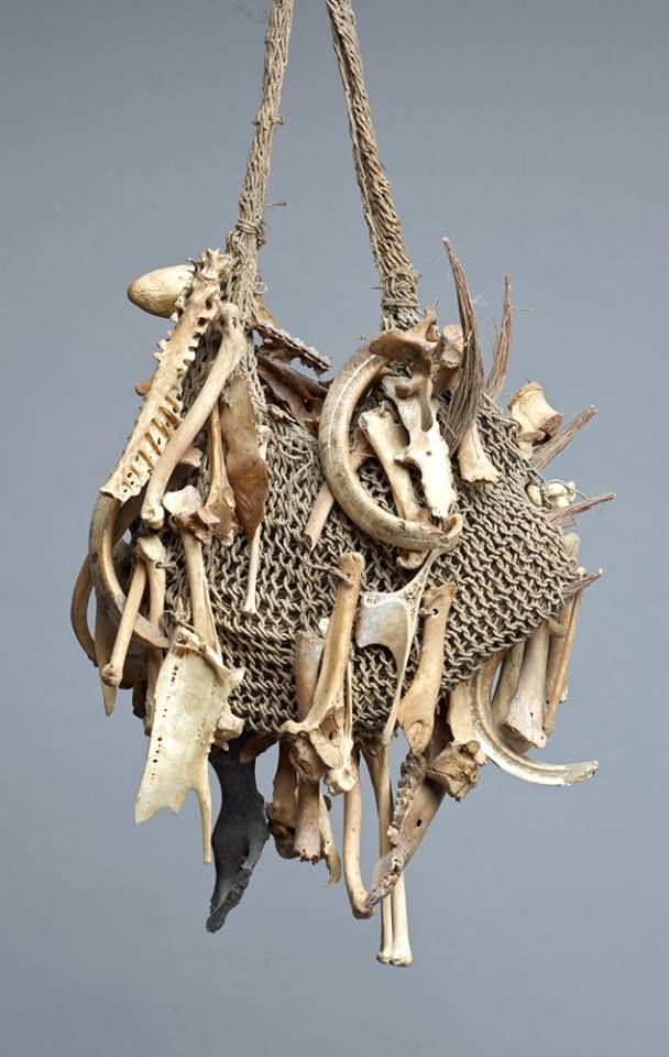 Medicine Bag, New Guinea. Randall Morris.