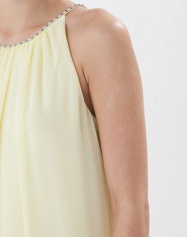 Robe jaune pâle Apolline 5 1.2.3
