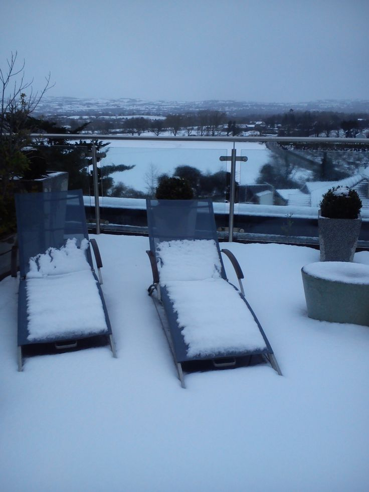 Not really the weather for sun bathing today in Aghadoe