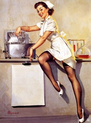 Q.#1...How long must bleach set to properly sterilize?  A.#1...10 min..   Q.#2... Who says being smart can't be sexy?
