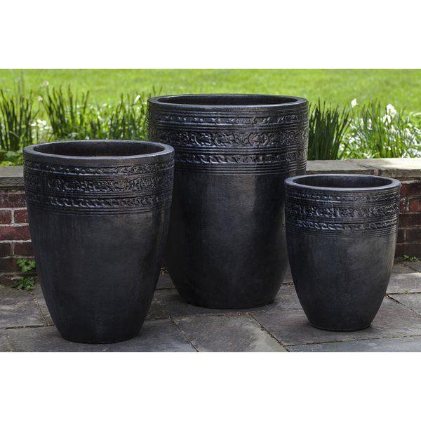 Sari 3 Piece Pot Planter Set