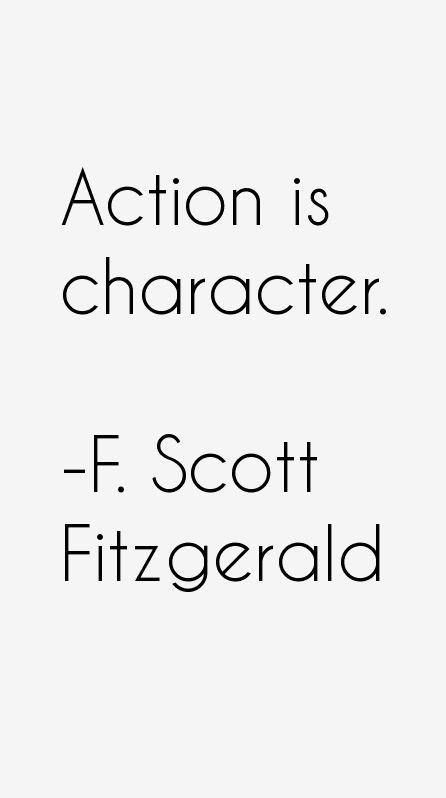 F. Scott Fitzgerald Quotes