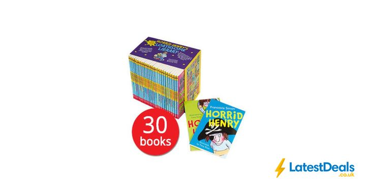 Horrid Henry's Loathsome Library Box Set - 30 Books + Free Gift, £30 at The Book People