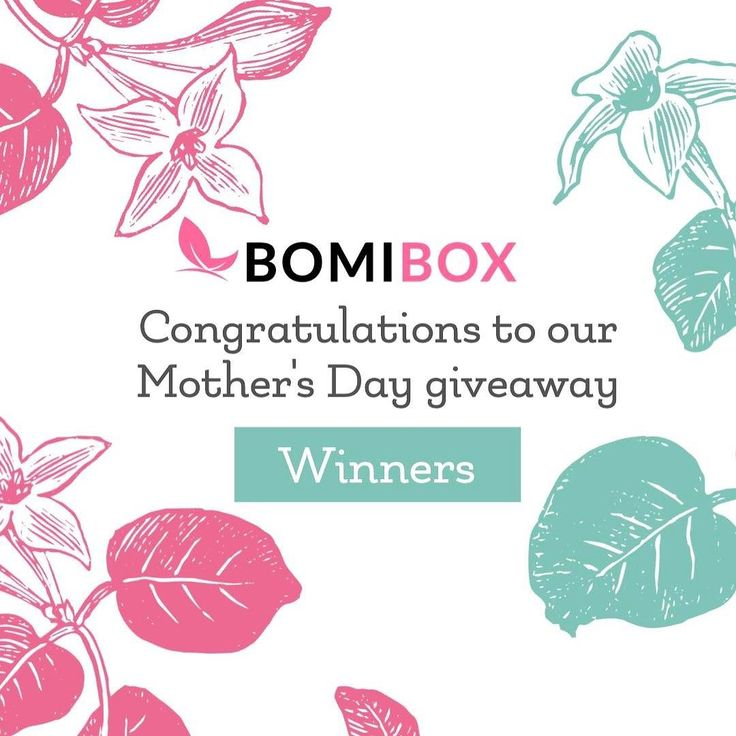 Congratulations to our Mother's Day winners & moms  @saggoddess @moorefinesse and her mom @mgvillan @princess_bubblegum_the_first and her nominated mom @va_ler_ee and lastly @fnn_w and her nominated mom @beautyjoylife  Look out for our DM and thank you so much to everyone for entering. We have another big giveaway we're running will post on it soon