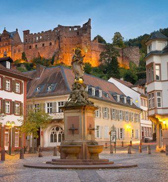 Marktplatz in Heidelberg