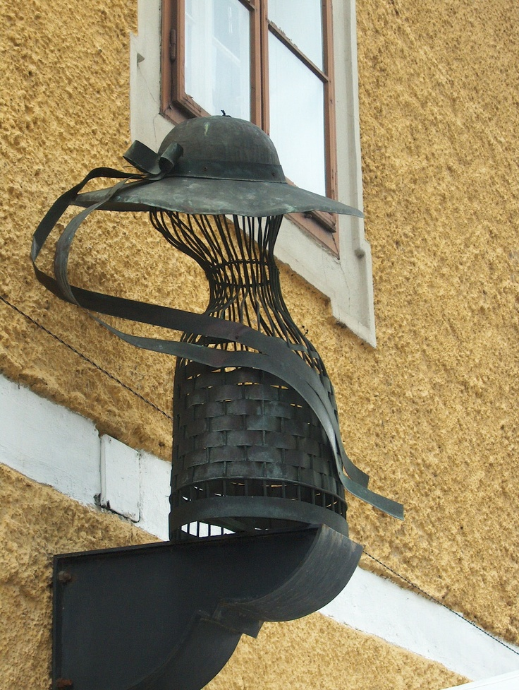 hat shop in Keszthely, Hungary