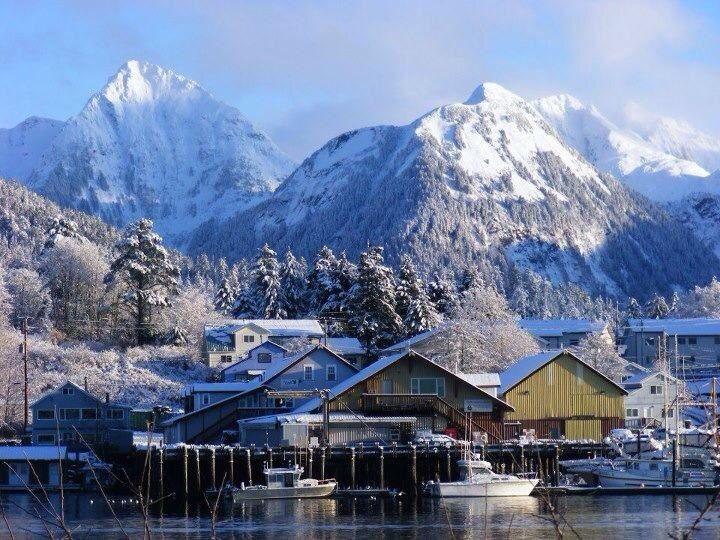 Sitka, Alaska I'm so ready to go!