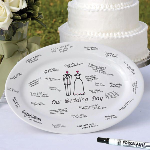 Wedding Guest Signature Ideas: 44 Best Images About Signature Plates On Pinterest