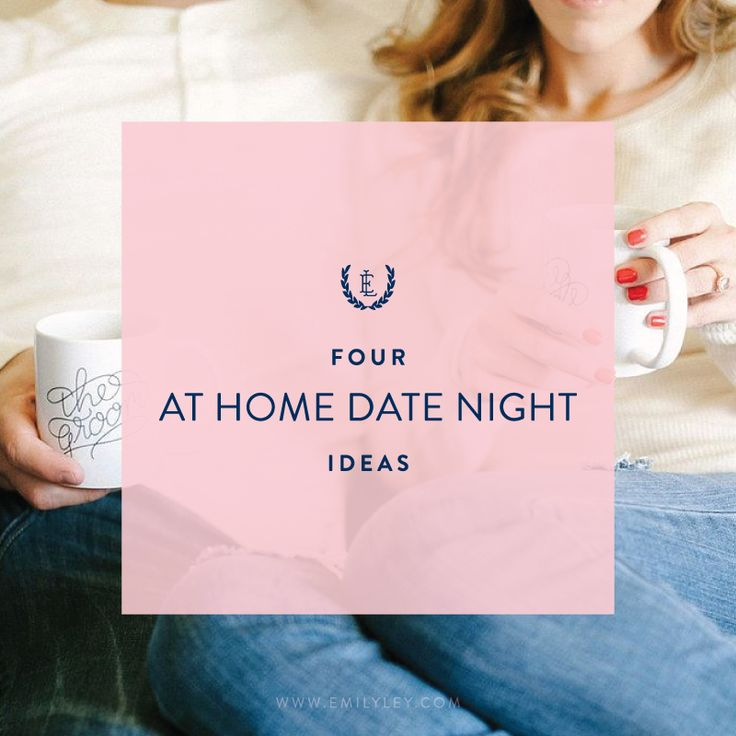 4 At Home Date Night Ideas | Emily Ley. Picnic, Theme Night, Cooking Night, Games Night (with cool prizes - babysitting, restaurant voucher)