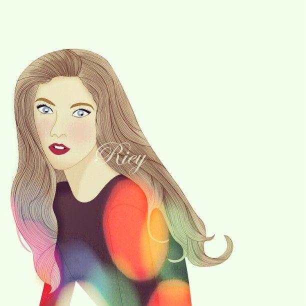 well.. not my best #drawing #girl #illustration #digitalartwork #artwork #skech #vector #illustration