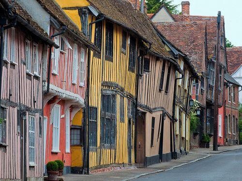 Lavenham, Suffolk, England, UK