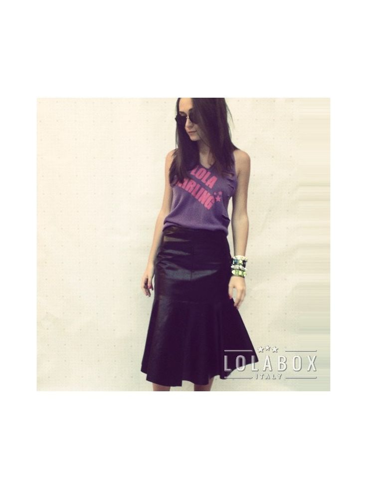 Lola Darliing Cashmere Vintage Remake Top, Purple color, Plotter Print Logo, Punk, Made in Italy, Hand Made, Remake, Contemporary Fashion di loladarlingirl su Etsy