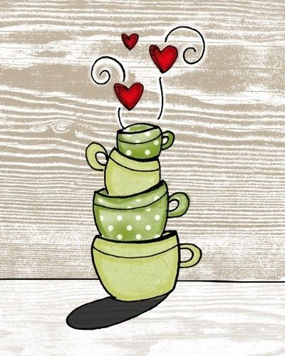 stacked to perfection i heart kitchens series by vol25 on Etsy, $24.00