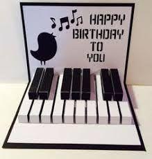 Resultado de imagen para felicitaciones cumpleaños animadas piano