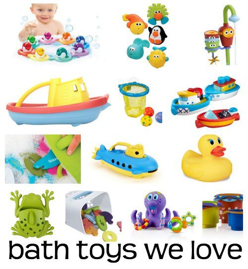 All you need to know about baby bath toys