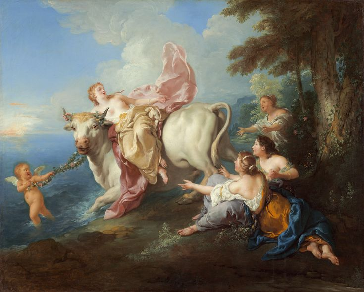 Jean François de Troy (1716) - The Abduction of Europa