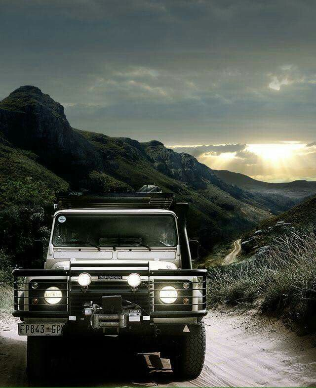 Land Rover Defender lifestyle environment