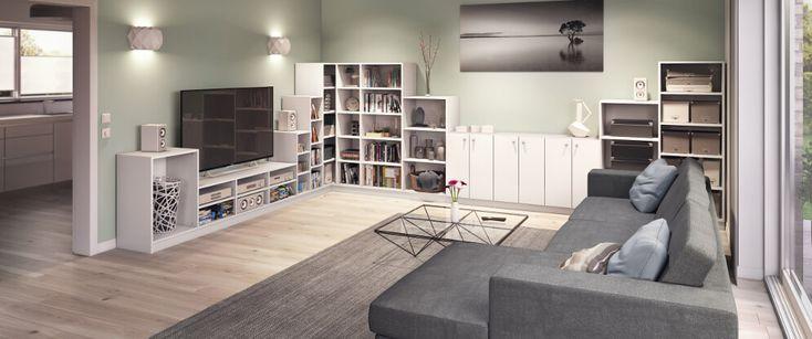 Sideboards nach Maß fürs Wohnzimmer selbst planen … #dekoration #dekorations… – Wohnzimmer