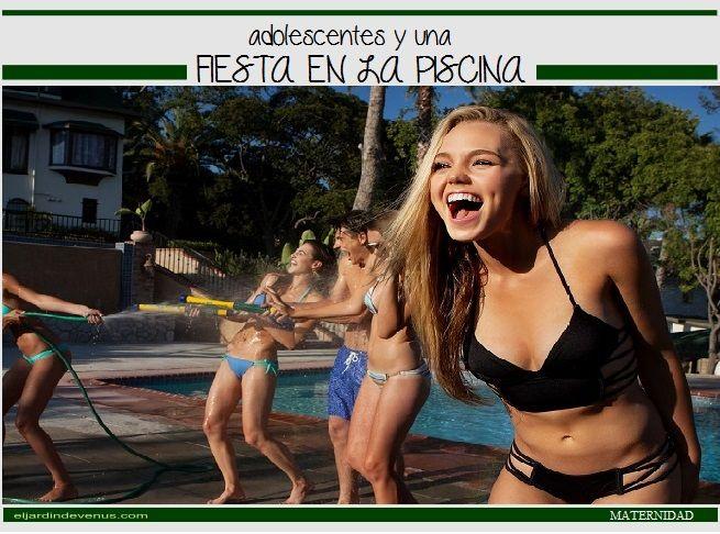 Adolescentes y una fiesta en la piscina http://www.eljardindevenus.com/maternidad/adolescentes-y-una-fiesta-en-la-piscina/