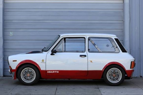 1972 Autobianchi A112 Abarth Racer