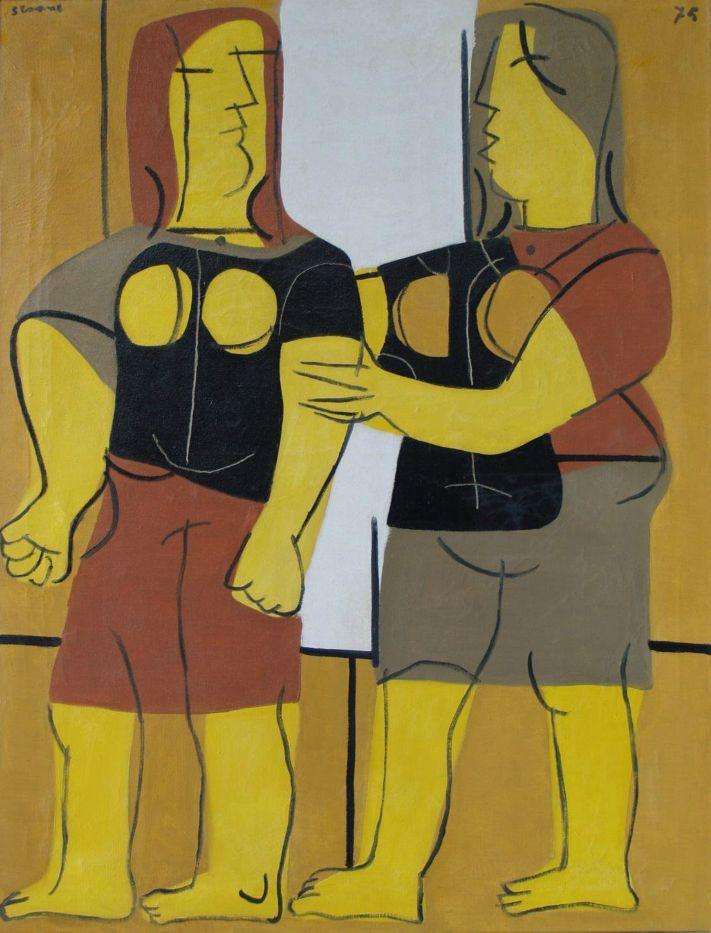 Traballadoras (1975) Luis Seoane