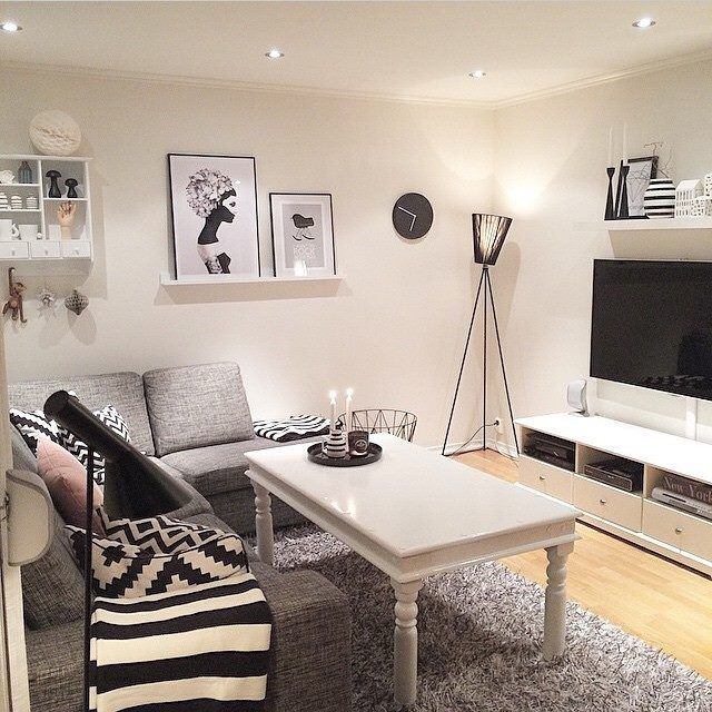 Another Room Accented With Ruben Ireland Illustrations