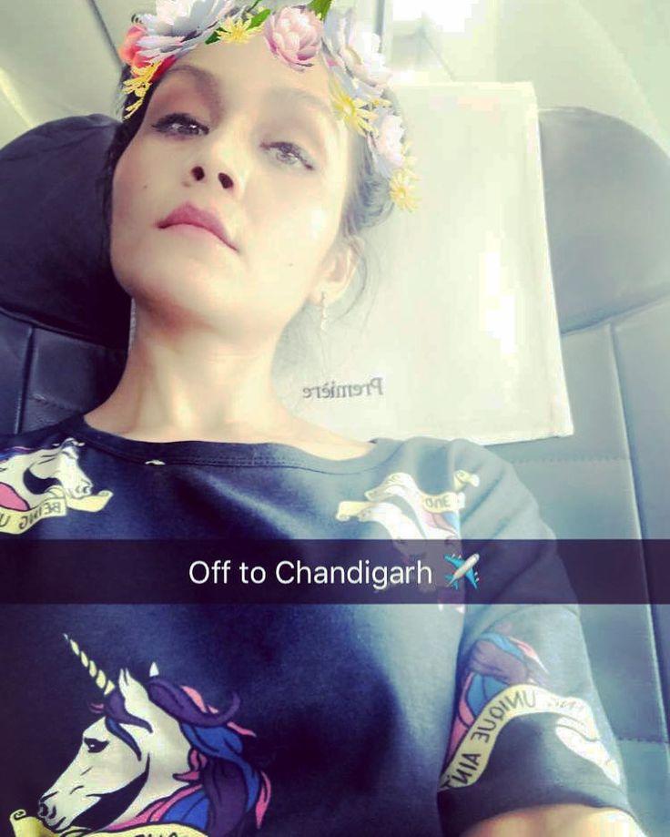 Off to Chandigarh ✈️ #sonukakkar #selfie #traveldiaries #instapic