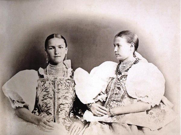Портреты жителей Архангельской губернии. Фото И. Бранденбурга для Этнографической выставки 1867-го года в Москве.