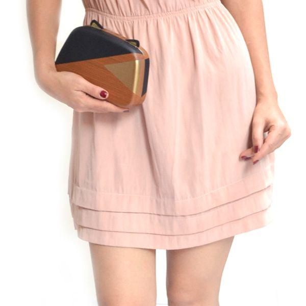 Meow clutch - #rachanareddy #bags #clutch #india #wood #handcrafted #woodenclutch  #fashion #elegant #nostalgic #summer #statementaccessory #ss14 #campaign #ecofashion #easybreezy #cat #kittybag #catears #catlove #kittylove #metallic #graphicprint #meow   Shop here: www.rachanareddy.com