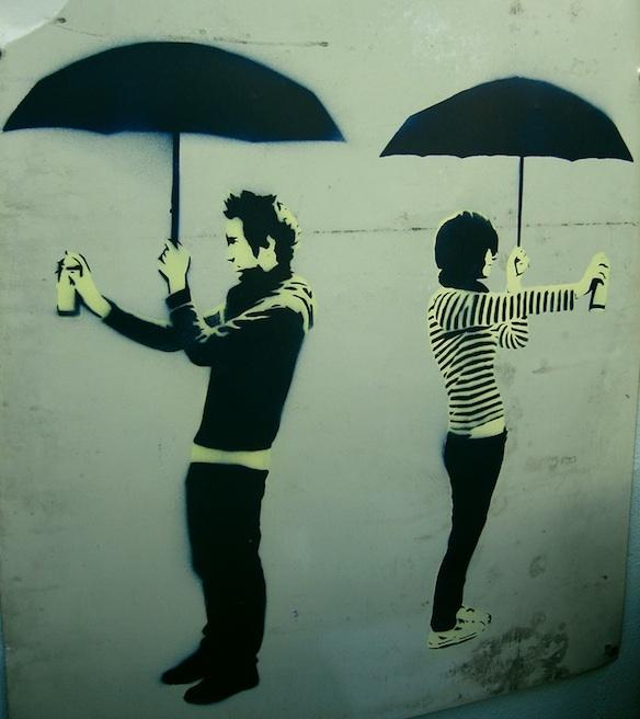 Hosier Lane Graffiti, Melbourne, Australia...!