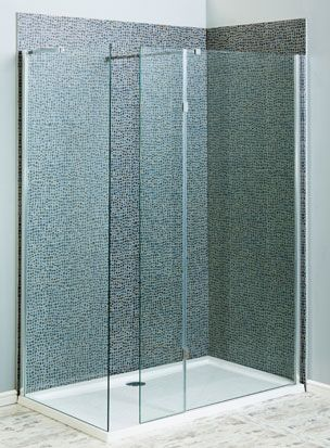 Aquatech 8mm Wet Room Screens with Toughened Safety Glass