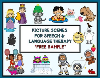 27 best images about Picture scenes for speech therapy on ...