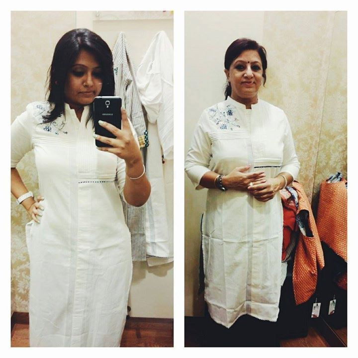And so Jasmin Kaur celebrated #MothersDay the #Wway  She styled her mom and herself and sent us a click here and has won loads of goodies. Rush into the nearest #Wstore and win loads  #MomsDayOut — with Jasmin Kaur.