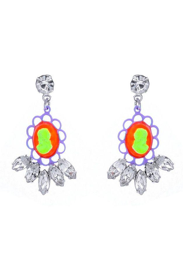 Tom Binnsneon earrings