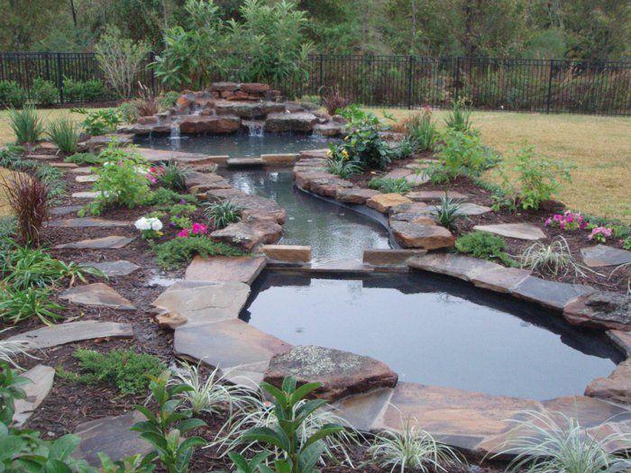 más de 25 ideas increíbles sobre wasserfall im garten en pinterest, Garten und bauen