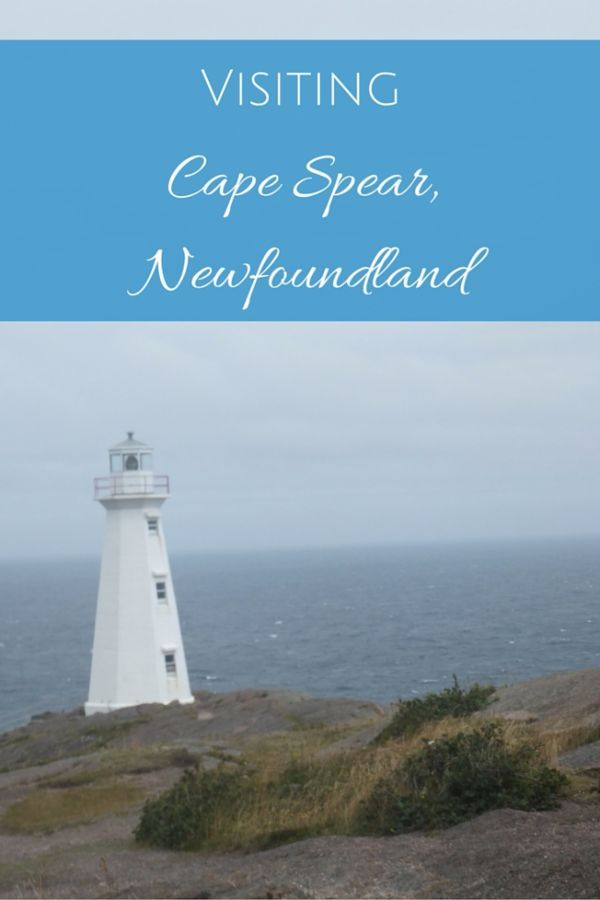 Visit the Cape Spear Lighthouse National Historic Site of Canada outside St. John's, Newfoundland, Canada to stand on North America's most easterly point | #newfoundland #capespear #explorenl #canada #explorecanada #familytravel | Gone with the Family
