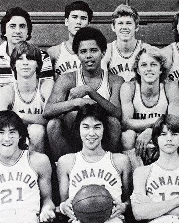 Barack and rest basketball team
