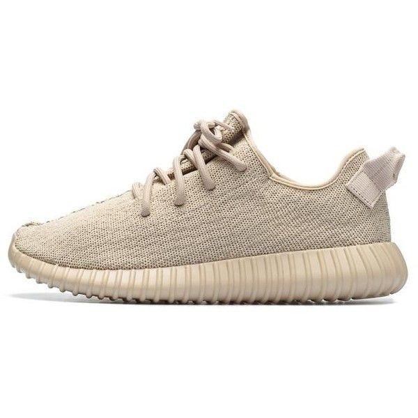Best The 10th Version UA Yeezy 350 Boost Oxford Tan for Sale Online -... ❤ liked on Polyvore featuring pink oxfords and tan oxfords