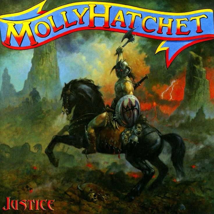 Molly Hatchet Justice album cover