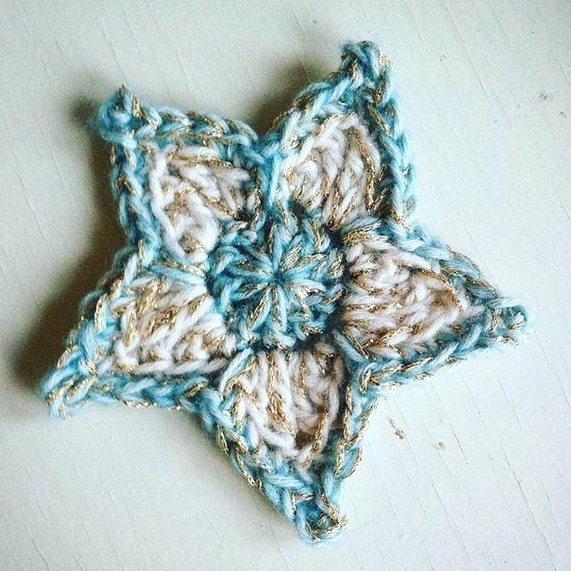 Crochet Star Decoration