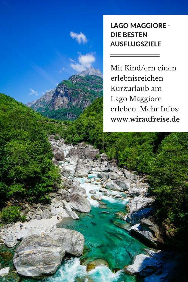 Lago Maggiore - Urlaub in der Schweiz und in Italien. Ausflugsziele und Tipps für Familien. Weitere Informationen unter www.wiraufreise.de.