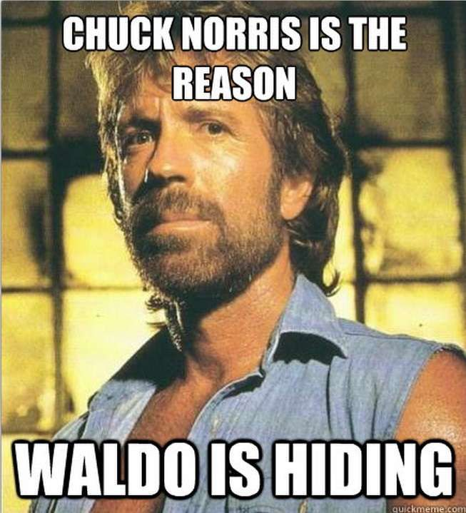 I never think these will stop coming up no matter who thinks ill of Walker Texas Ranger.