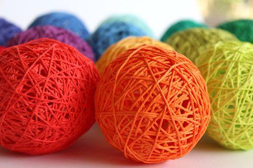 Tuto pour réaliser une boule avec de la laine