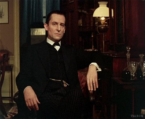 Sherlock Holmes - The Blue Carbuncle - Jeremy Brett - Granada Holmes The look of pity mingled with distaste for the criminal on Holmes' face
