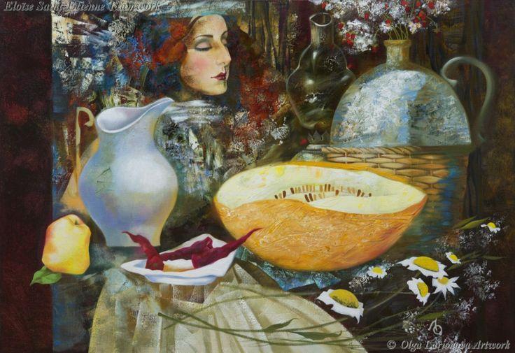 Still Life with Reflection by Olga Larionova.