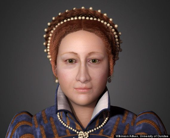 Mary, Queen of Scots: Dundee University Create Facial Reconstruction