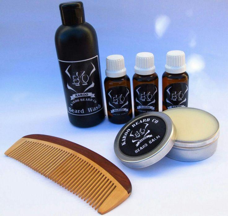 Karoo kudu full house 2 Contains 3 beard oils 1 was 1 balm and on wood beard combo Only R490 at www.karoobeardco.co.za Local south africa #beardoil # beardproducts #localislekker #karoo #baardolie #beard # suidafrika