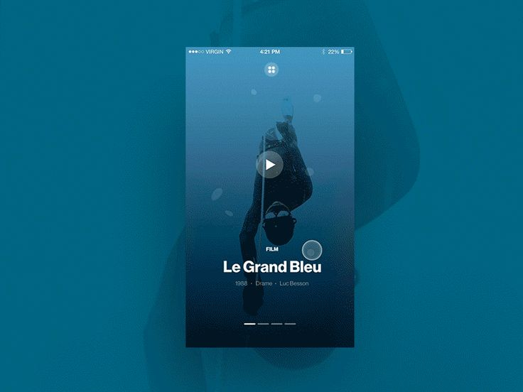 Movie App Interactions by  Samuel Medvedowsky