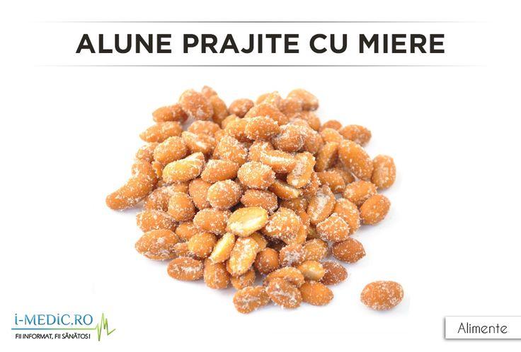 Alunele prajite cu miere au un continut caloric de 200 de calorii pe 37,3 grame de produs. http://www.i-medic.ro/diete/alimente/alune-prajite-cu-miere