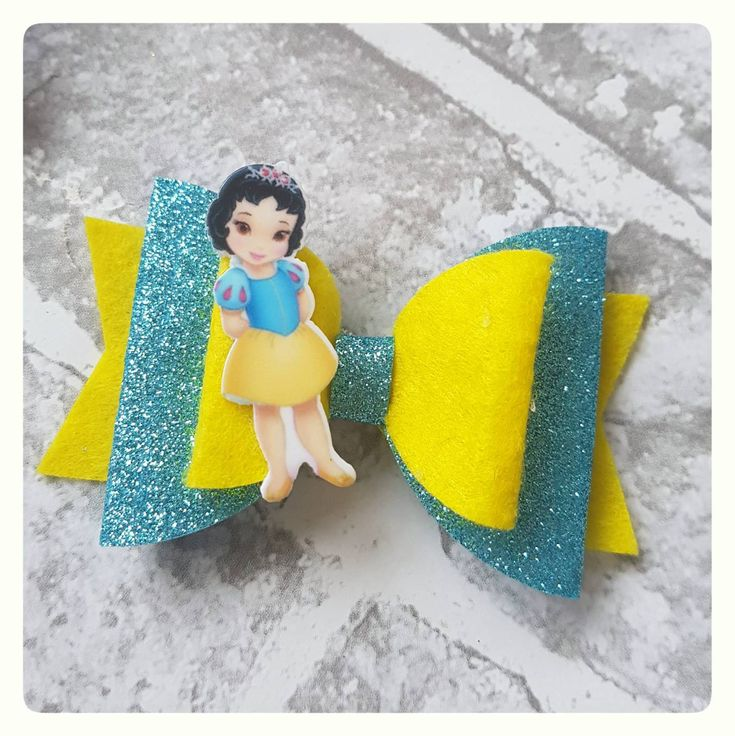 Excited to share the latest addition to my #etsy shop: Snow White Inspired Hair Bow - Snow White Bow, Disney Hair Bow, Disney Inspired, Girl Hair Bow, Baby Hair Bow, Baby Headband, Toddler Bow http://etsy.me/2EKGogB